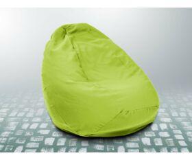 Fűzöld XXL szövet babzsákfotel