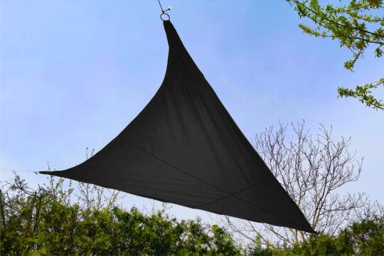 Fekete napvitorla 3,2*3,2*2,6m háromszög