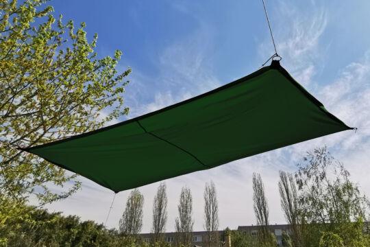 Fenyőzöld napvitorla 2,9*2m téglalap