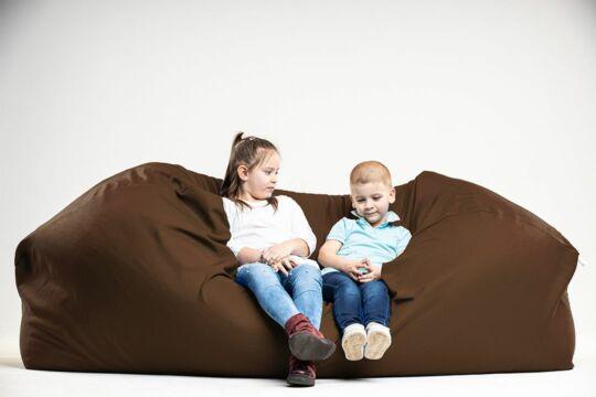 Barna Relax babzsák kanapé