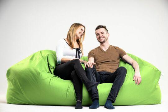 Fűzöld Relax babzsák kanapé