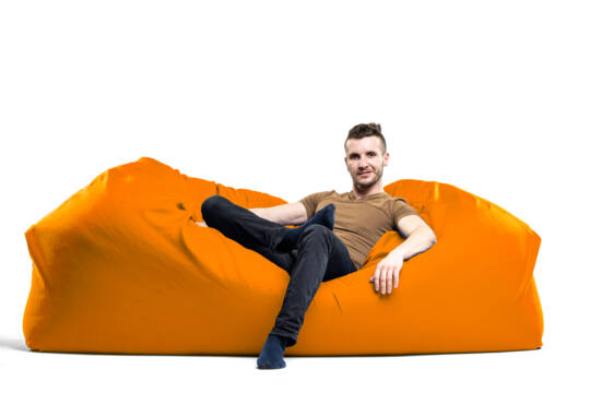 Narancs Relax babzsák kanapé