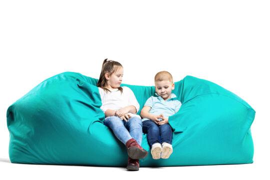 Türkiz Relax babzsák kanapé