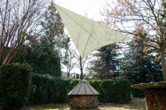 Drapp napvitorla 3,2*3,2*2,6m háromszög