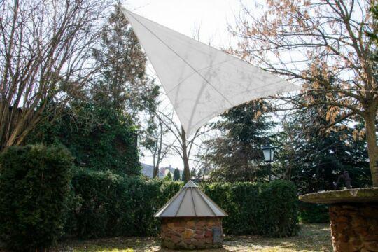 Fehér napvitorla 3,2*3,2*2,6m háromszög