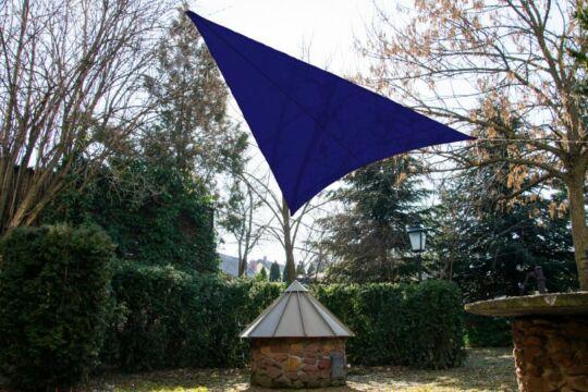 Királykék napvitorla 3,2*3,2*2,6m háromszög