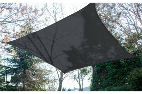 Ezüst napvitorla 4*4m négyszög