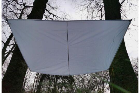 Fehér napvitorla 2,9*2m téglalap