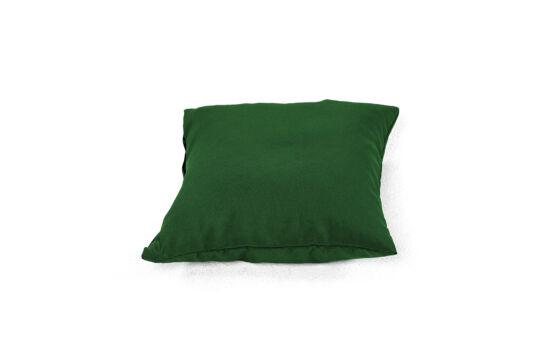 Fenyőzöld babzsák párna
