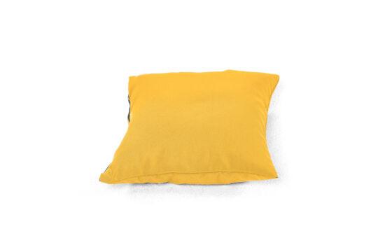 Sárga babzsák párna