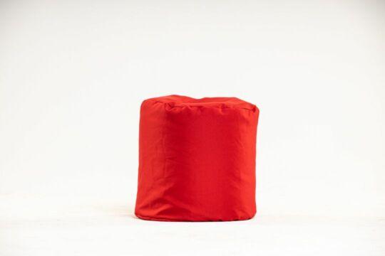 Piros babzsák puff