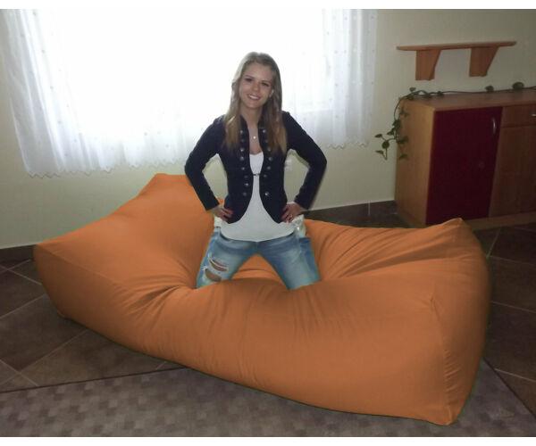 Narancssárga Komfort babzsák ágy