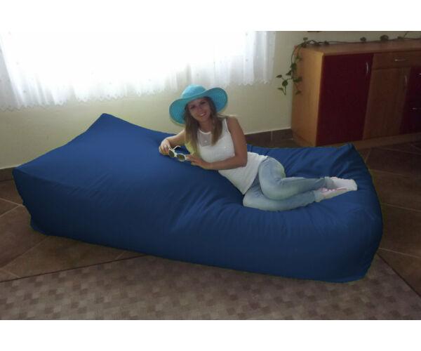 Királykék Komfort babzsák ágy