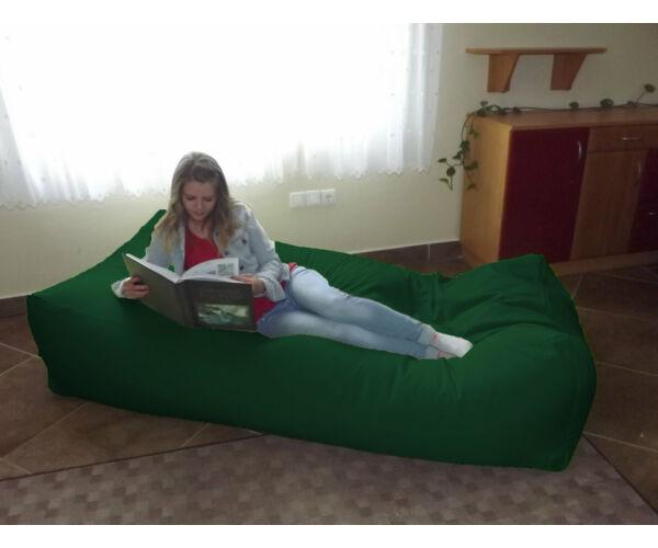 Zászlózöld Komfort babzsák ágy