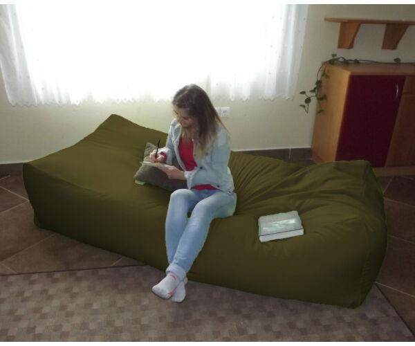Fenyőzöld Komfort babzsák ágy