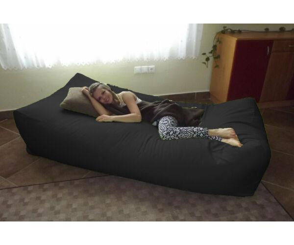 Fekete Komfort babzsák ágy
