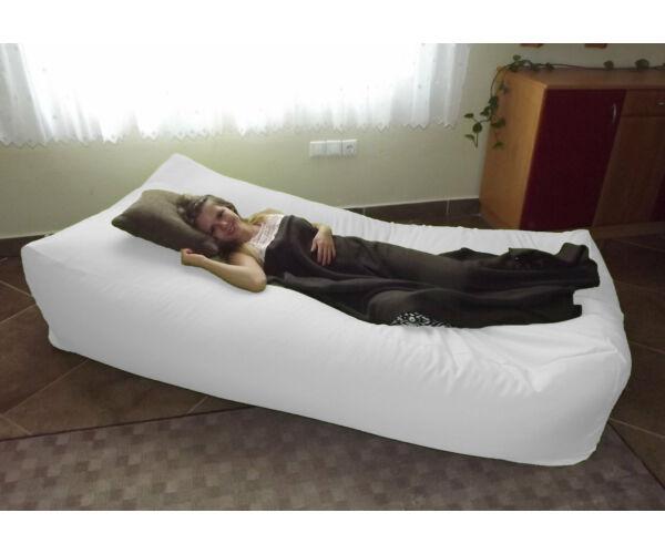 Fehér Komfort babzsák ágy