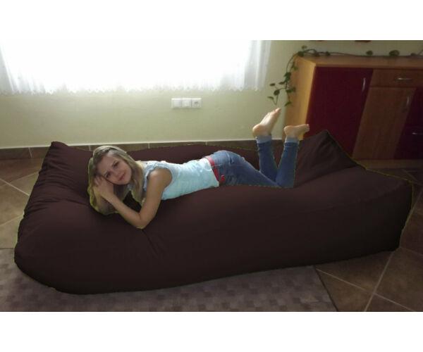 Barna Komfort babzsák ágy