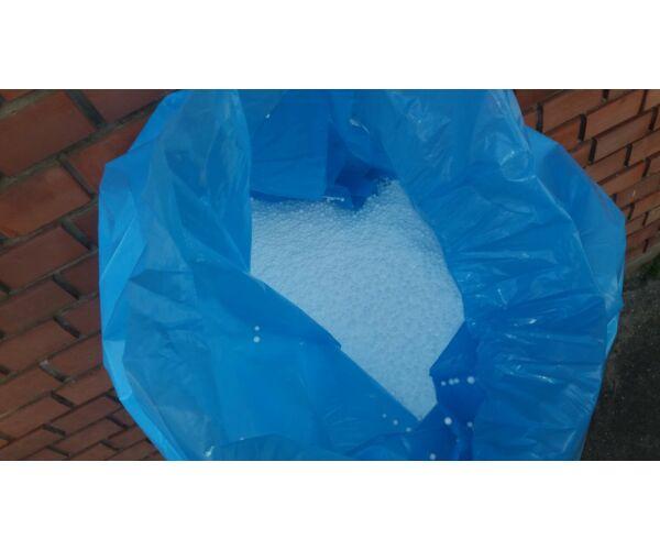 Polisztirol gyöngy 100 liter I. osztályú