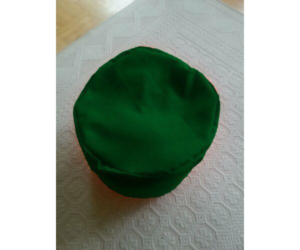Zászlózöld babzsák puff