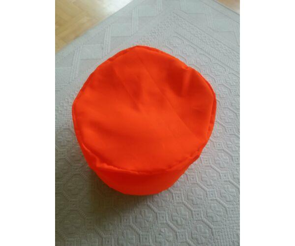 Narancs babzsák puff