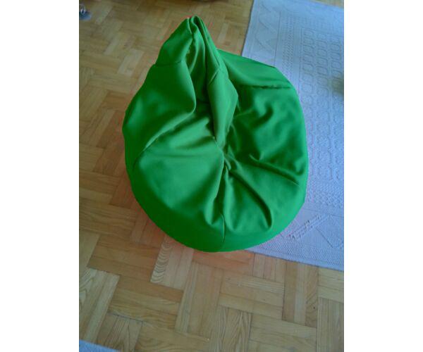 Zöld Tini szövet babzsákfotel