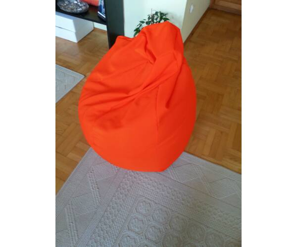 Narancssárga Tini szövet babzsákfotel