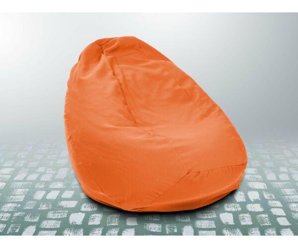 Narancs XXL szövet babzsákfotel