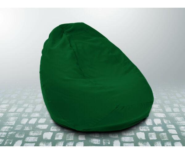 Zászlózöld XXL szövet babzsákfotel
